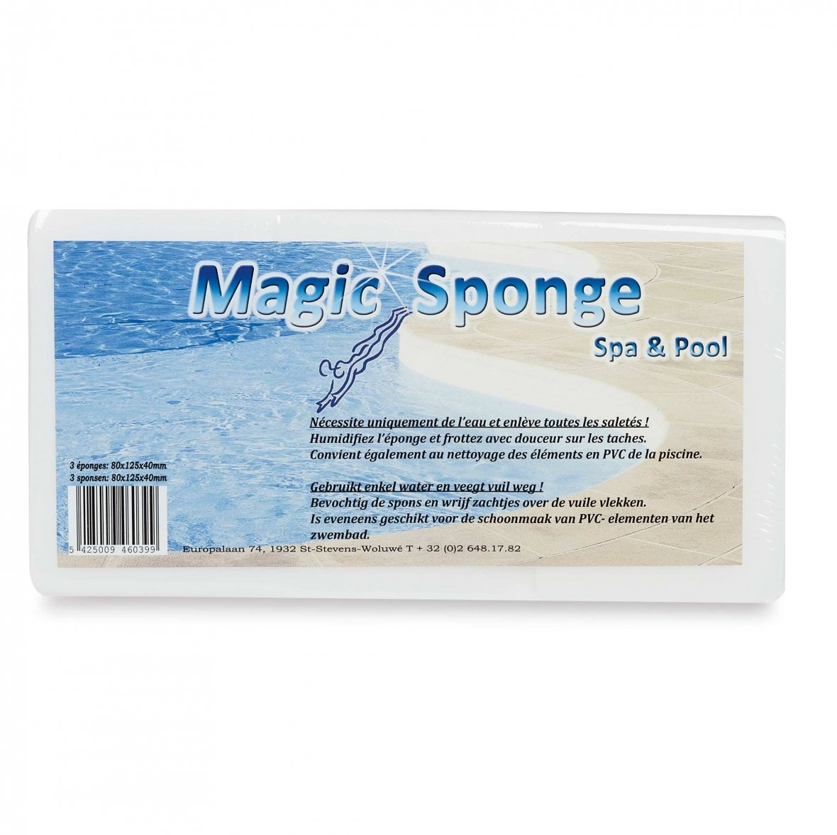 Éponge magique (set de 3)