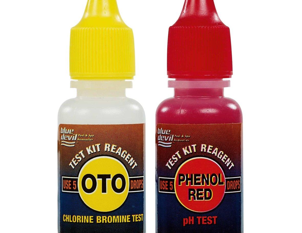 Recharges OTO et de phénol pour Test Kit