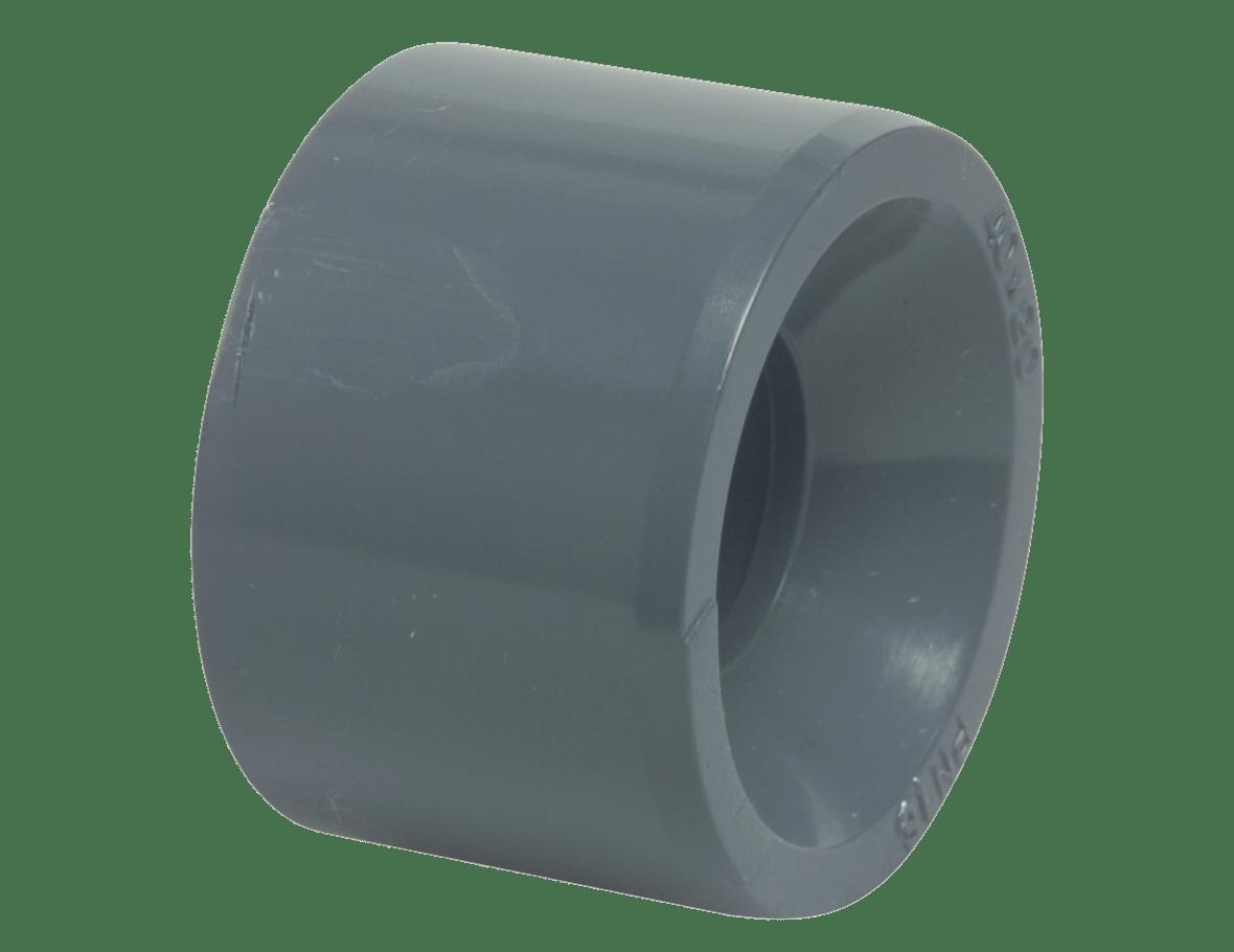 Réduction en PVC rigide 50 mm x 4/4''