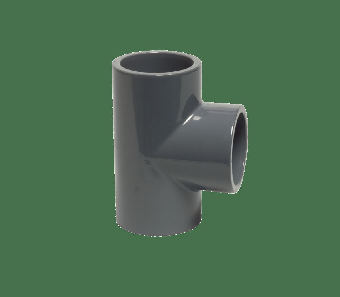 Té de 90° en PVC Ø 63 mm