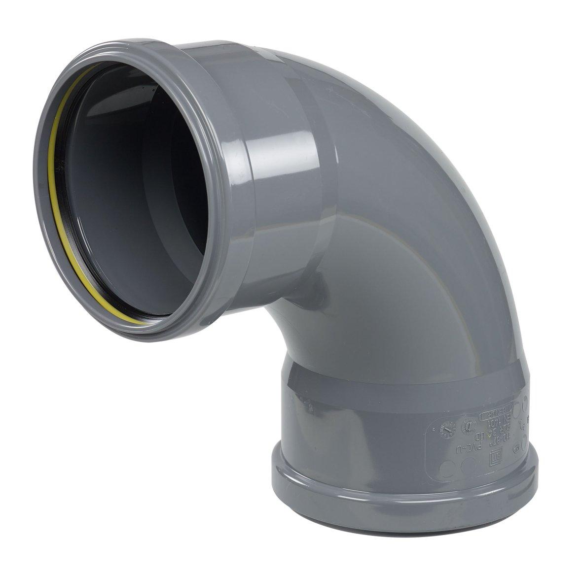 Coude de 90° PVC Ø 110 mm