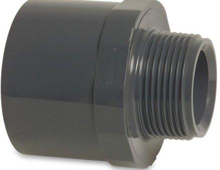 Embout en PVC ø50 x 1 1/2