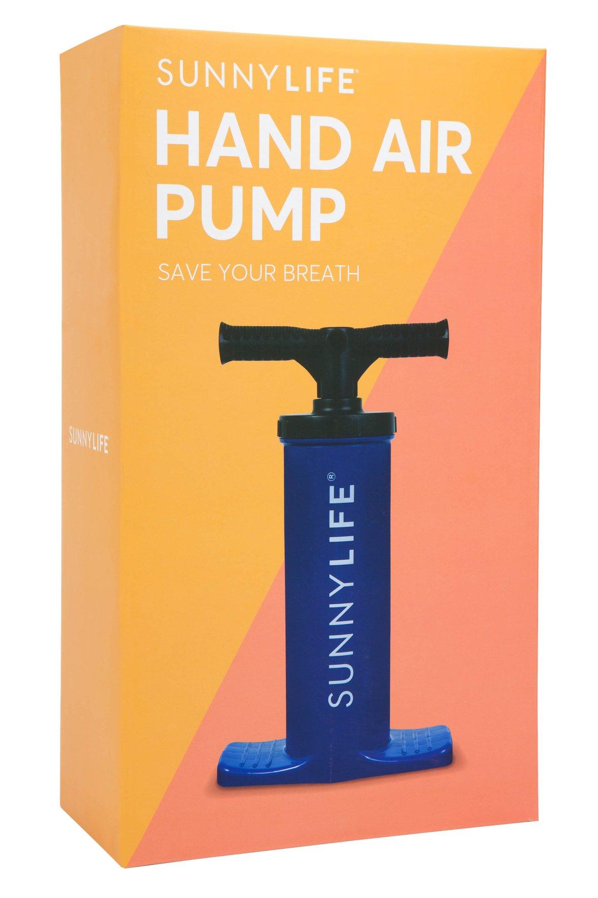 Pompe à air manuelle – Bleu azur