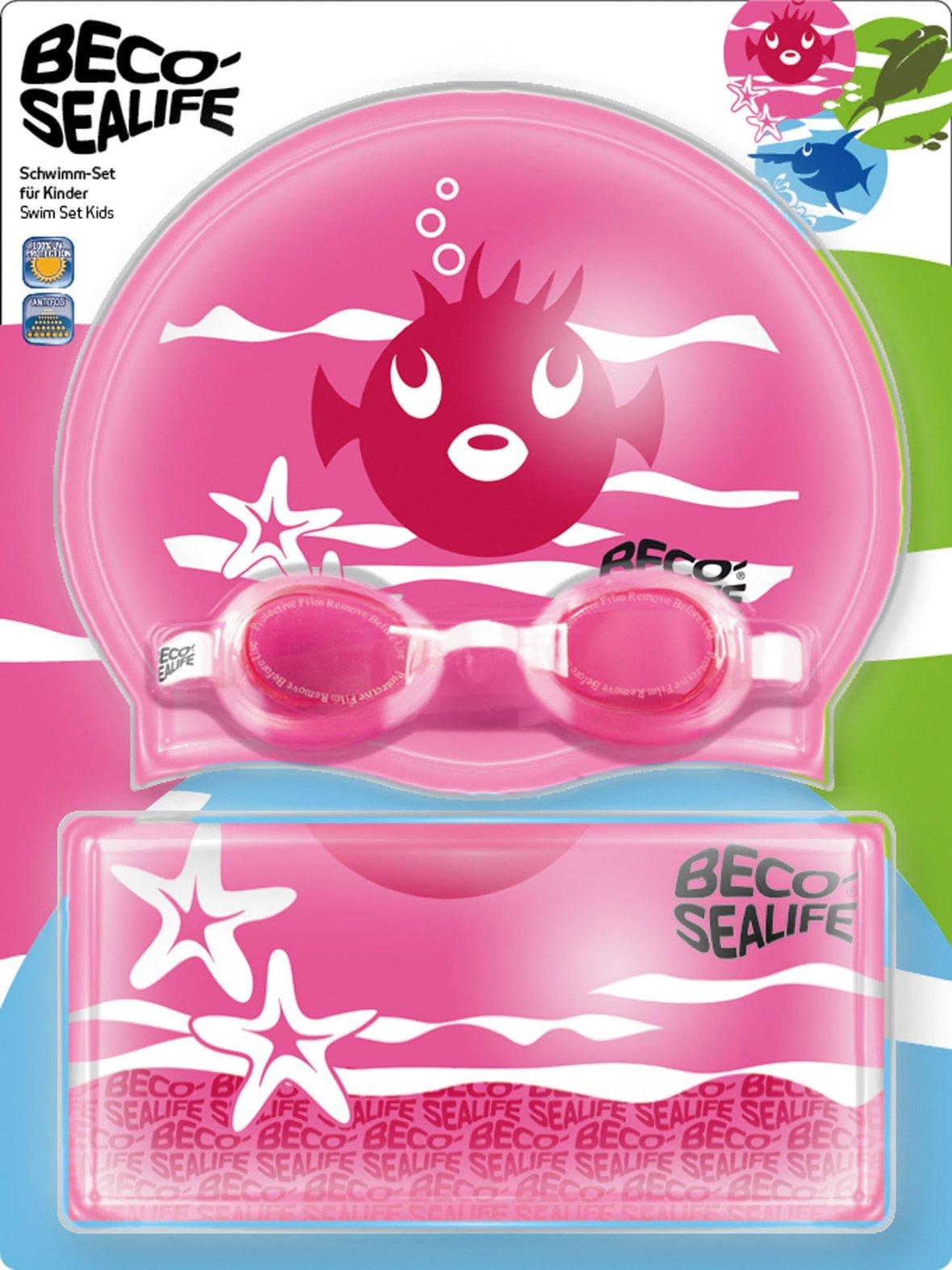 Set de natation Beco Sealife rose