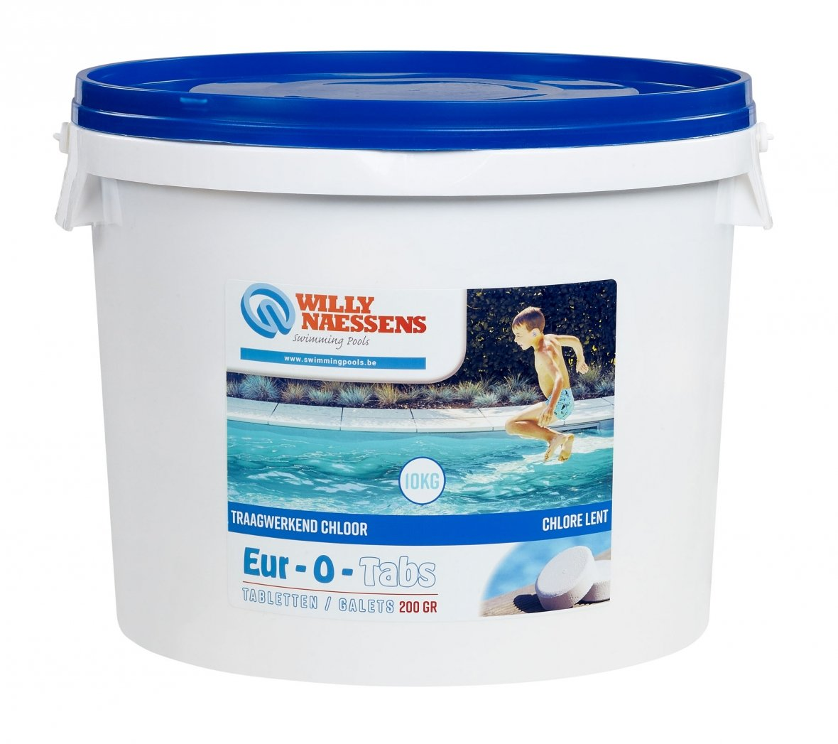 Pastilles de chlore 10 kg tca t200e swimming pools webshop - Pastille chlore piscine ...