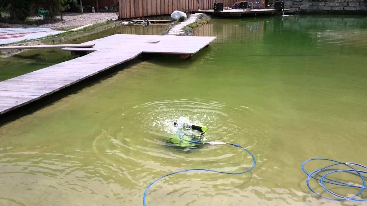 Nettoyeur d'étang Dolphin Bio Suction