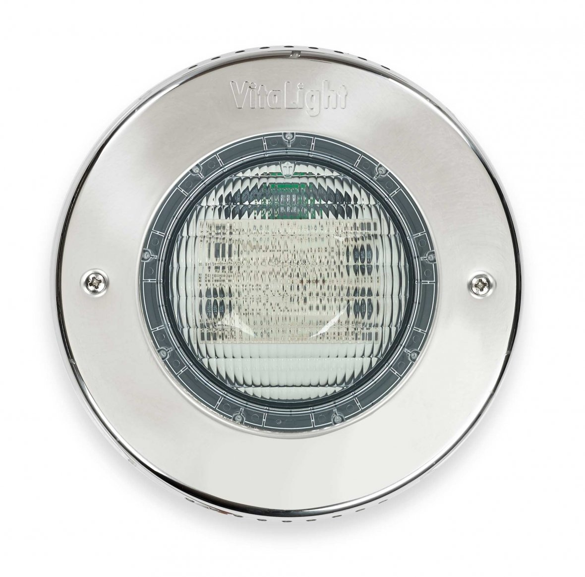 Éclairage LED en inox piscines en béton