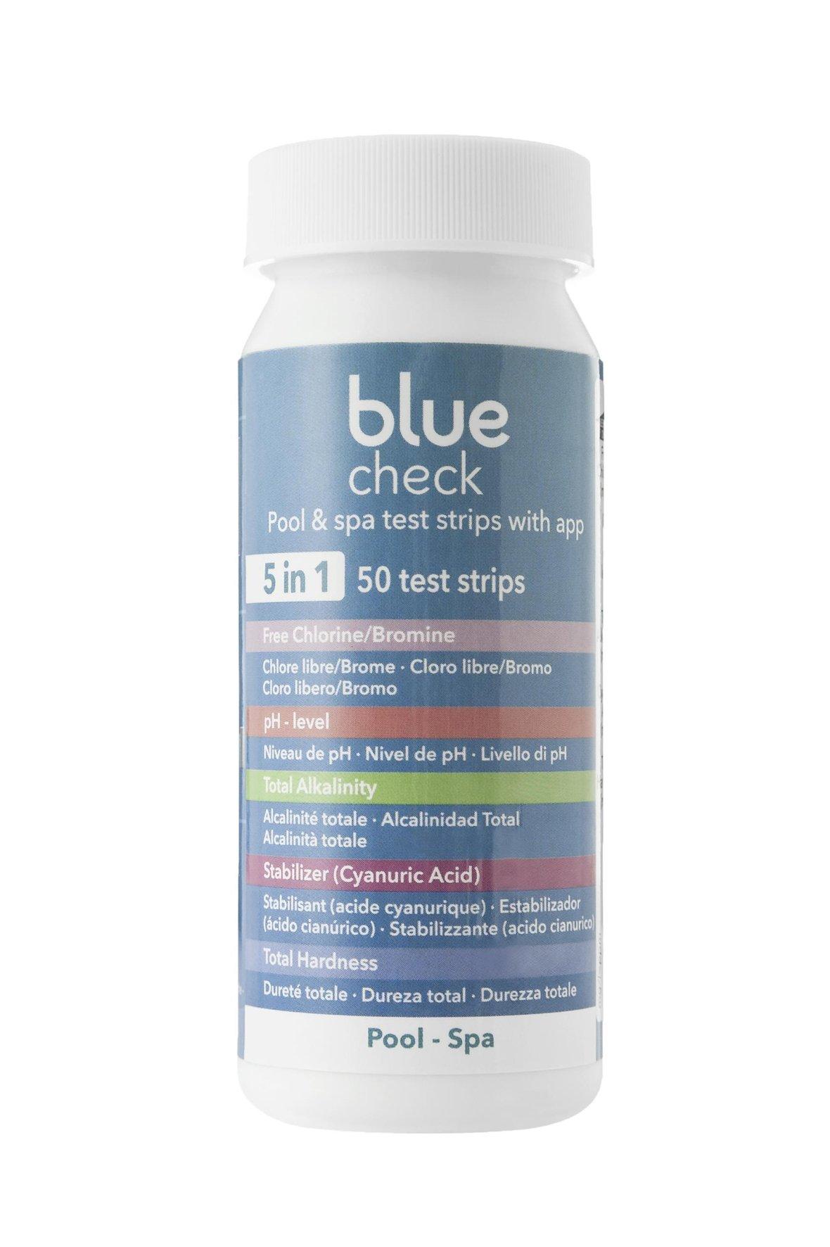 Bandelettes d'analyse Blue Check 5 en 1