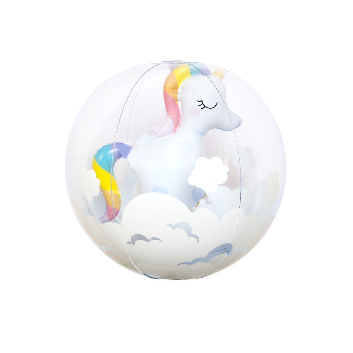 Ballon de plage | 3D Licorne