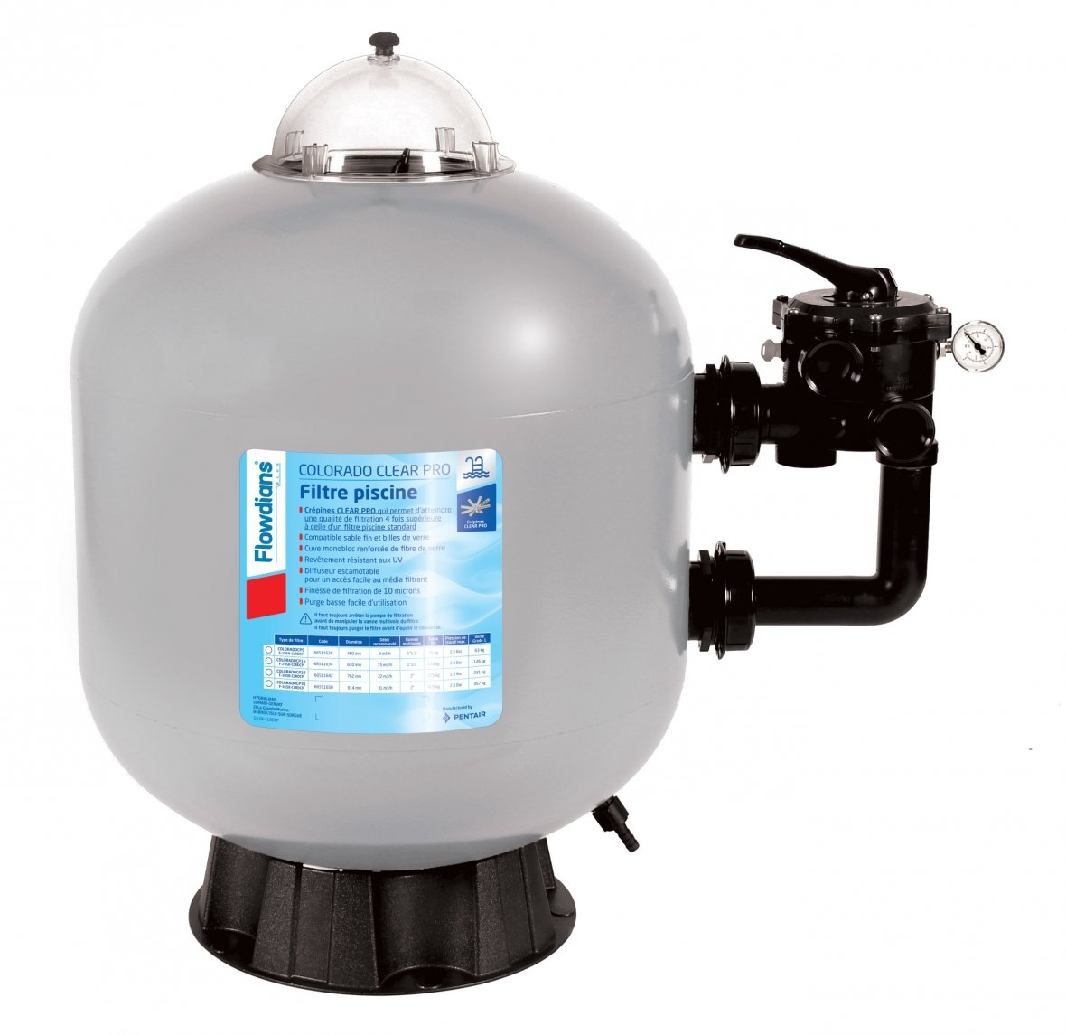 Filtre à sable Piscine - Colorado Clear Pro 15 m³/h