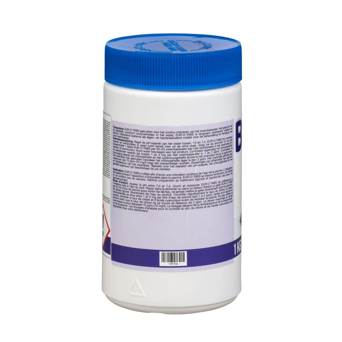 Pastilles de chlore B-care 1 kg 5/200 g