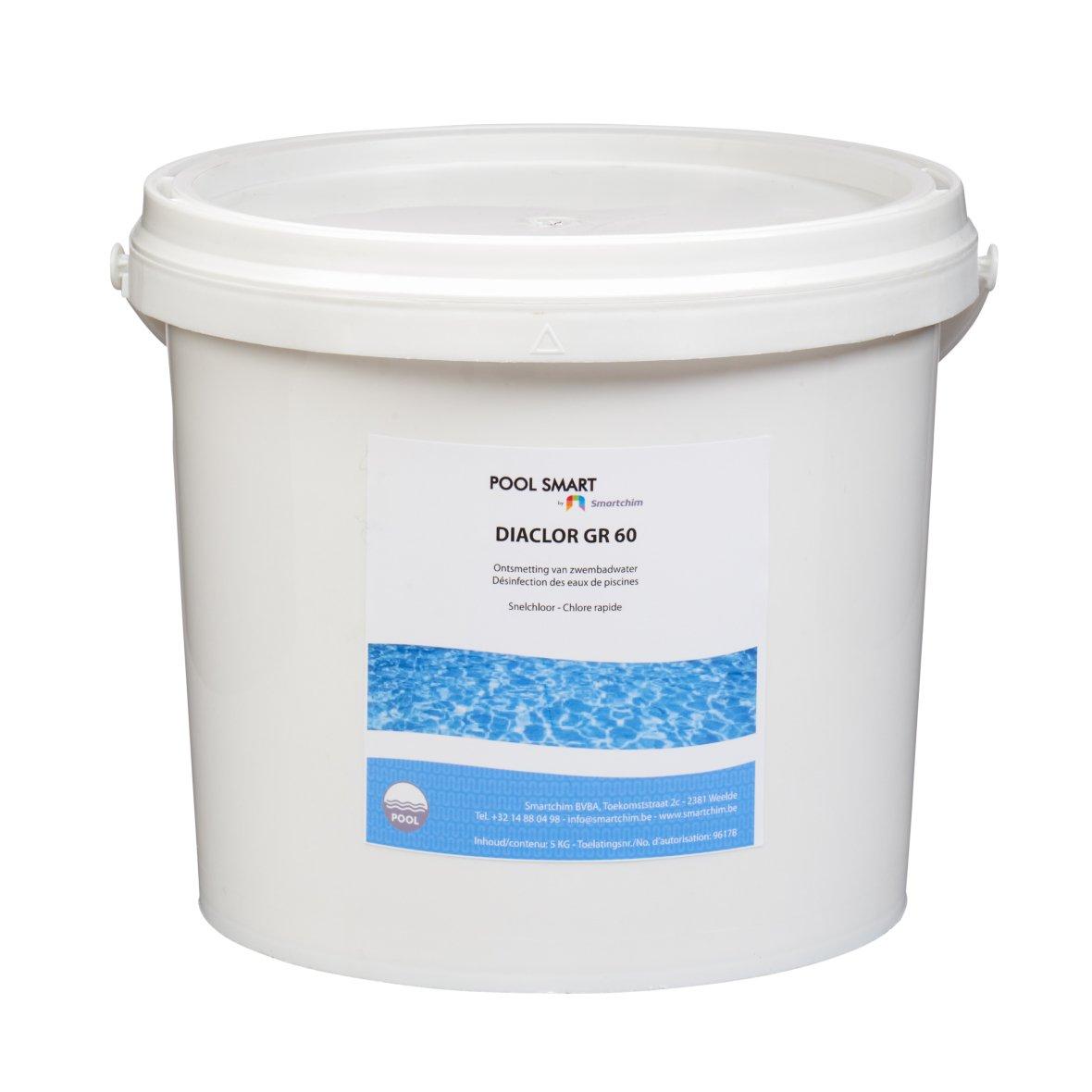 5kilos Granulés de chlore