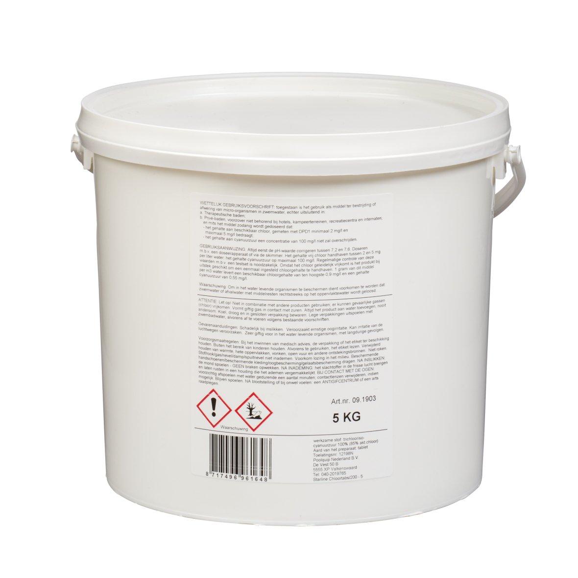 Starline Chloorgranulaat 55% - 5 kg