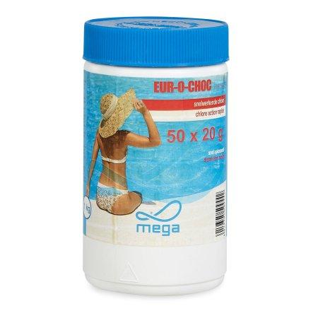 Pastilles de chlore 10 kg tca t200e swimming pools webshop for Chlore pour piscine gonflable