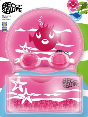 Set de natation Beco Sealife rose
