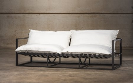STAY chaise longue double | blanc